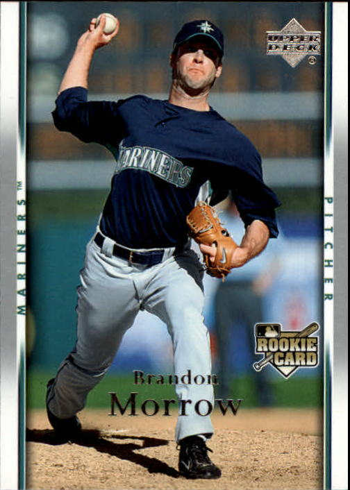2007 Upper Deck #943 Brandon Morrow RC front image