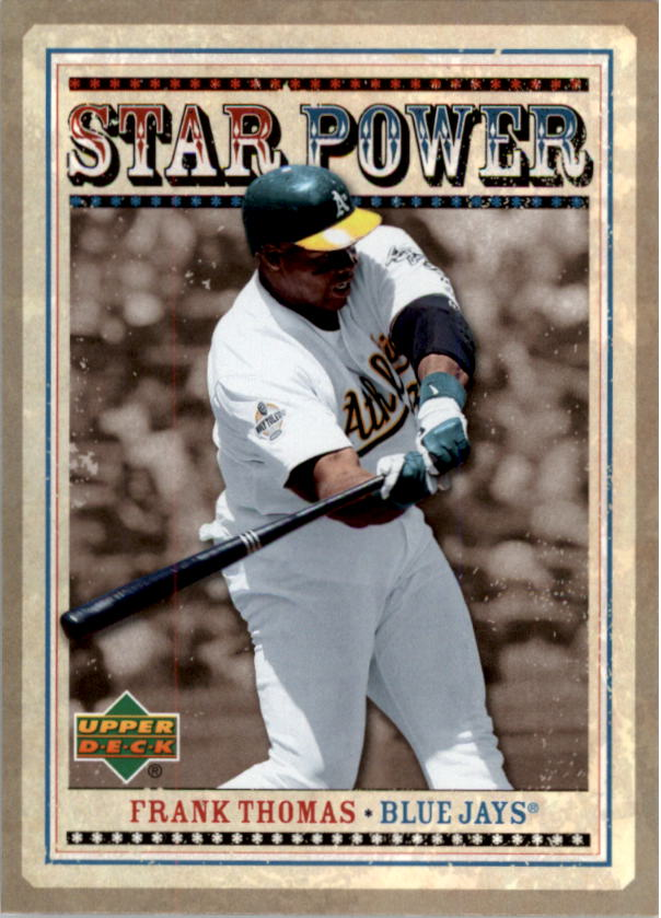 2007 Upper Deck Star Power #FT Frank Thomas