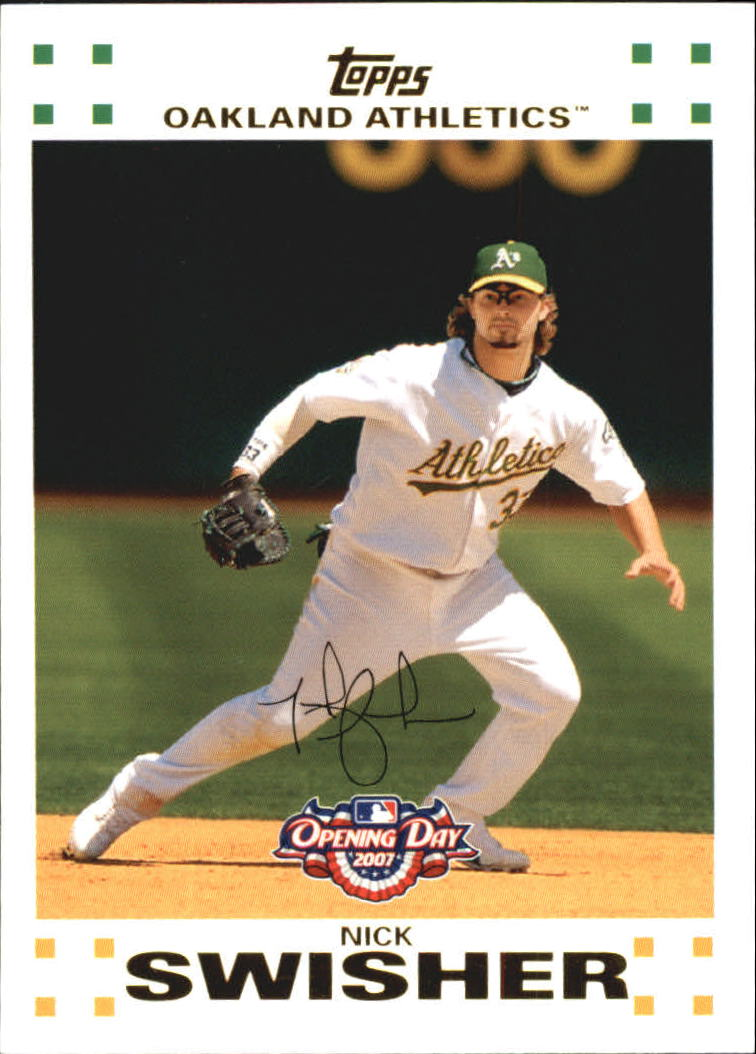 2007 Topps Opening Day #32 Nick Swisher