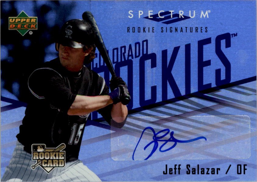 2007 Upper Deck Spectrum #122 J.Salazar AU (RC)