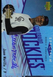 2007 Upper Deck Spectrum #128 J.Morillo AU (RC)