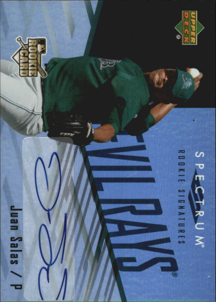 2007 Upper Deck Spectrum #130 J.Salas AU (RC)