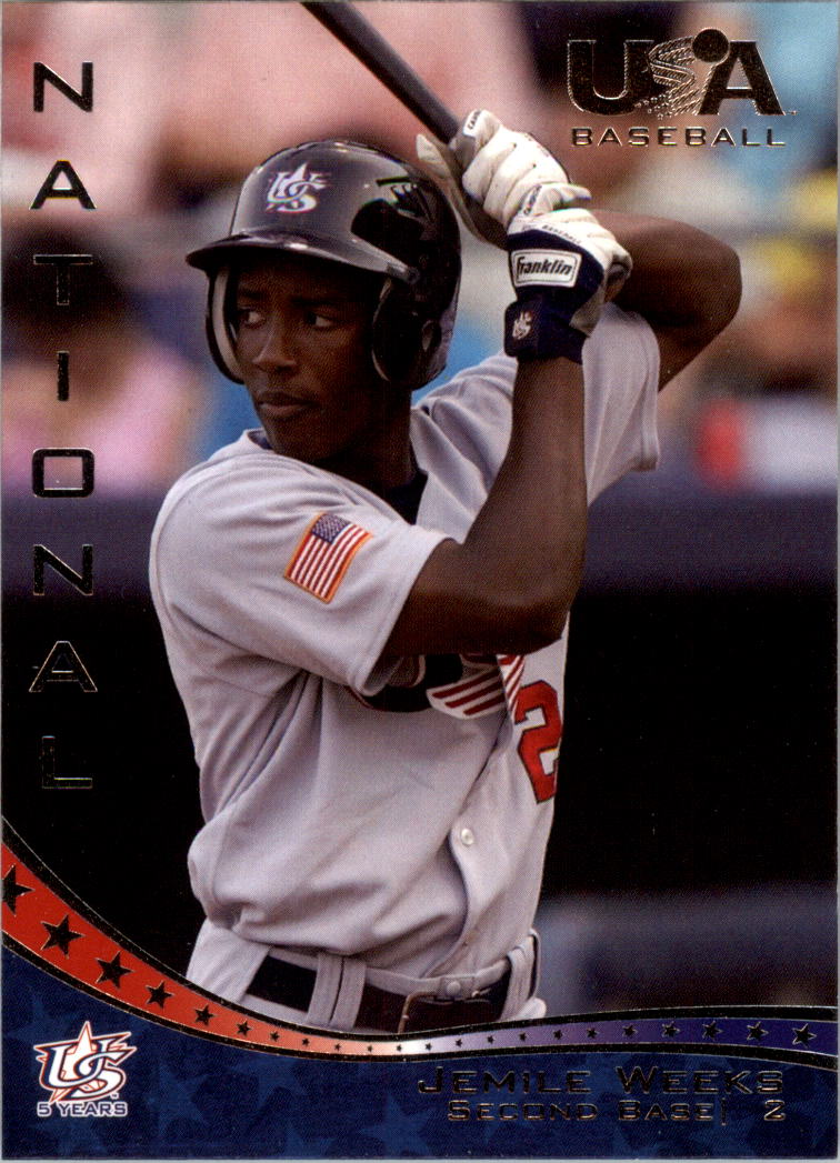 2006-07 USA Baseball #1 Jemile Weeks