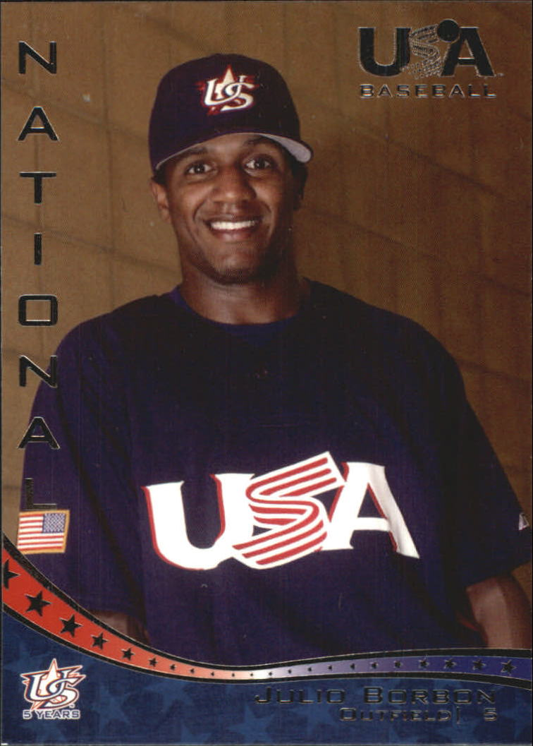 2006-07 USA Baseball #3 Julio Borbon