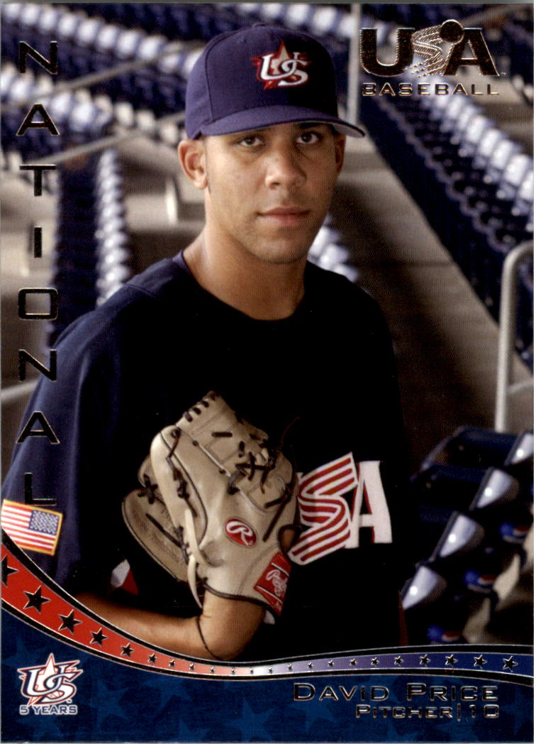 2006-07 USA Baseball #7 David Price