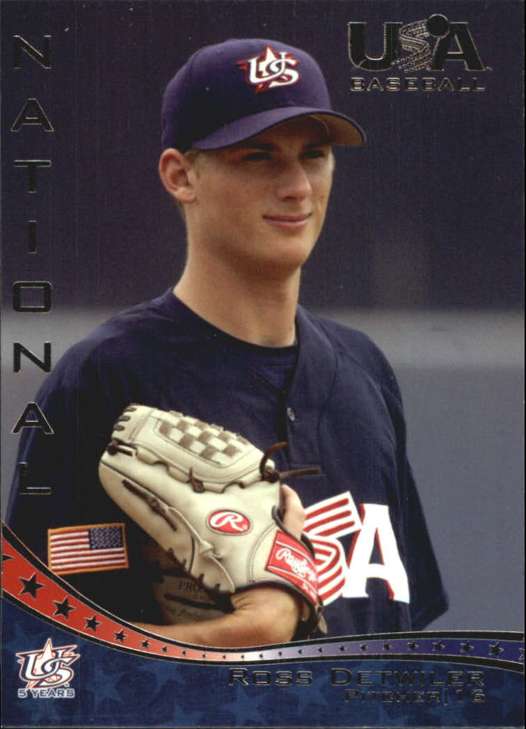 2006-07 USA Baseball #10 Ross Detwiler