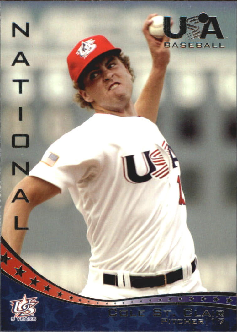 2006-07 USA Baseball #11 Cole St. Clair