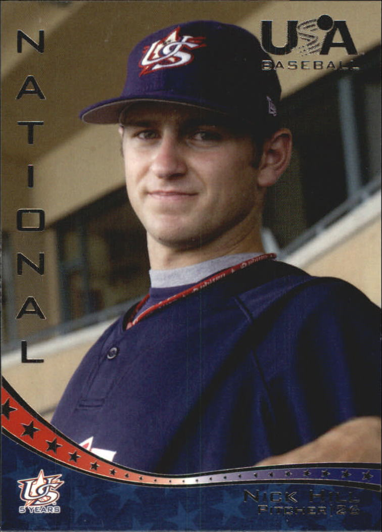 2006-07 USA Baseball #13 Nick Hill