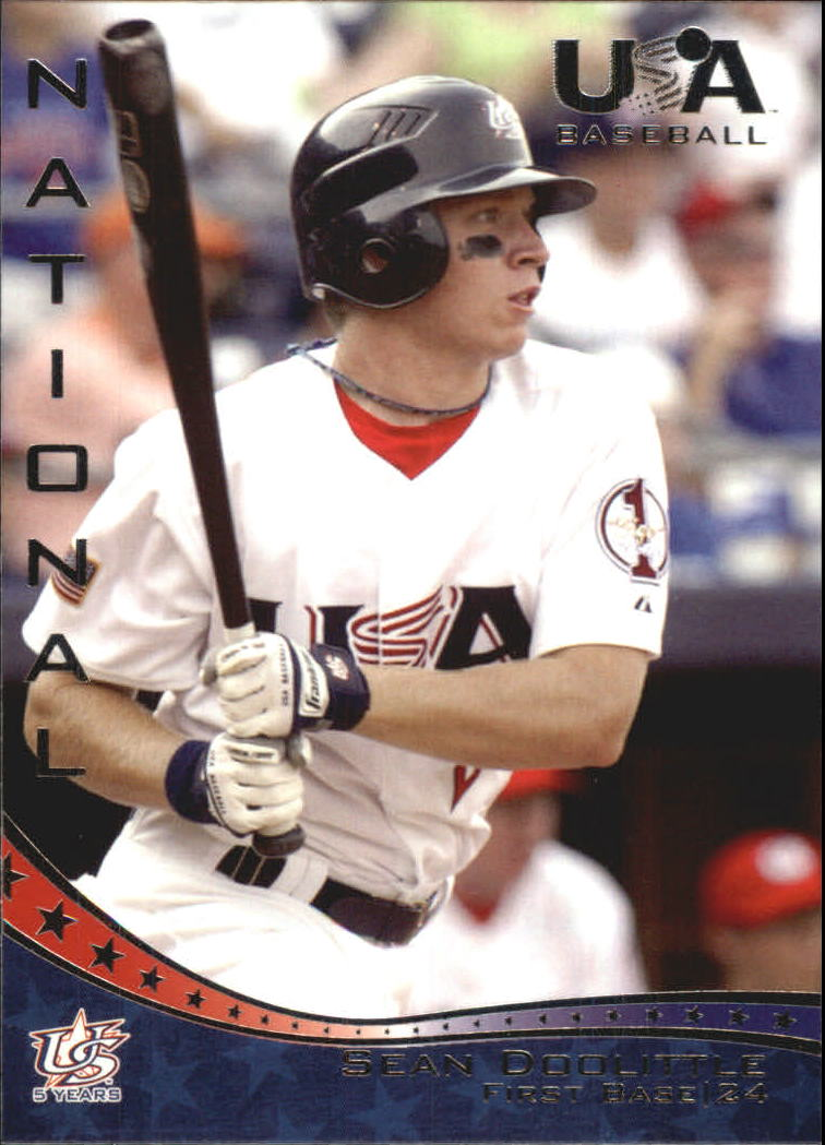 2006-07 USA Baseball #14 Sean Doolittle