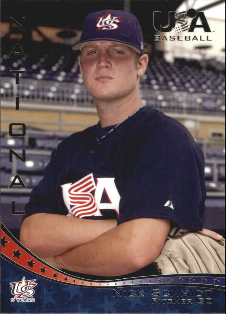 2006-07 USA Baseball #17 Nick Schmidt