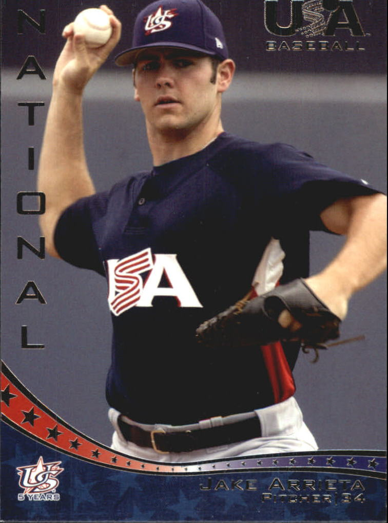 2006-07 USA Baseball #18 Jake Arrieta