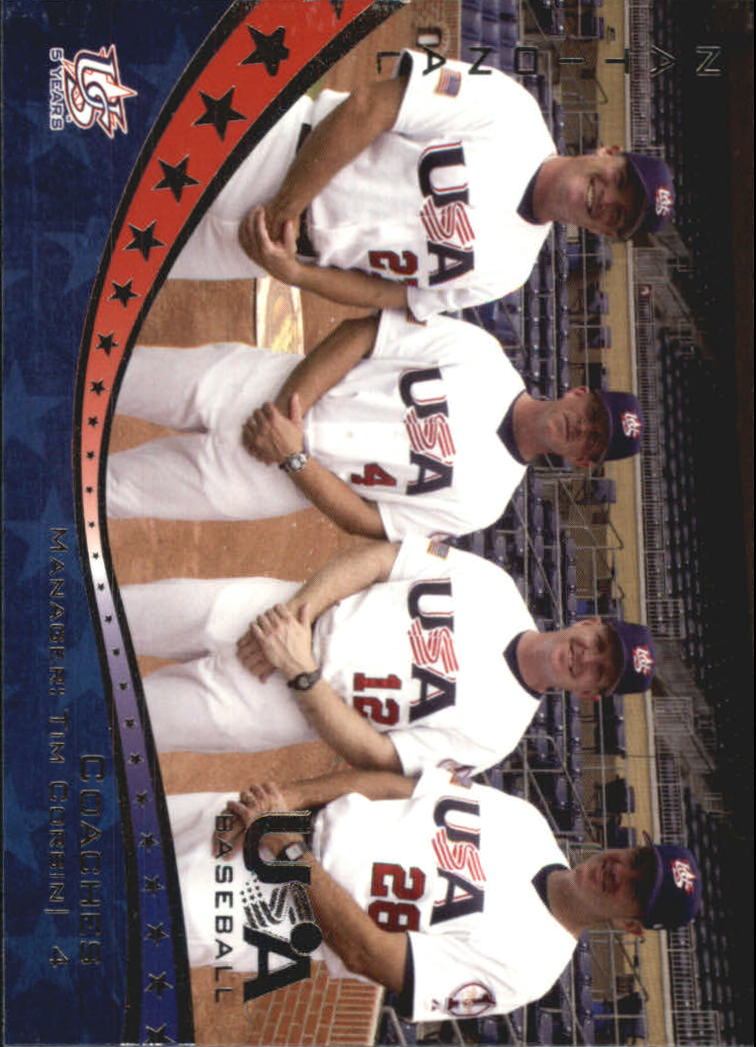 2006-07 USA Baseball #24 National Team Coaches