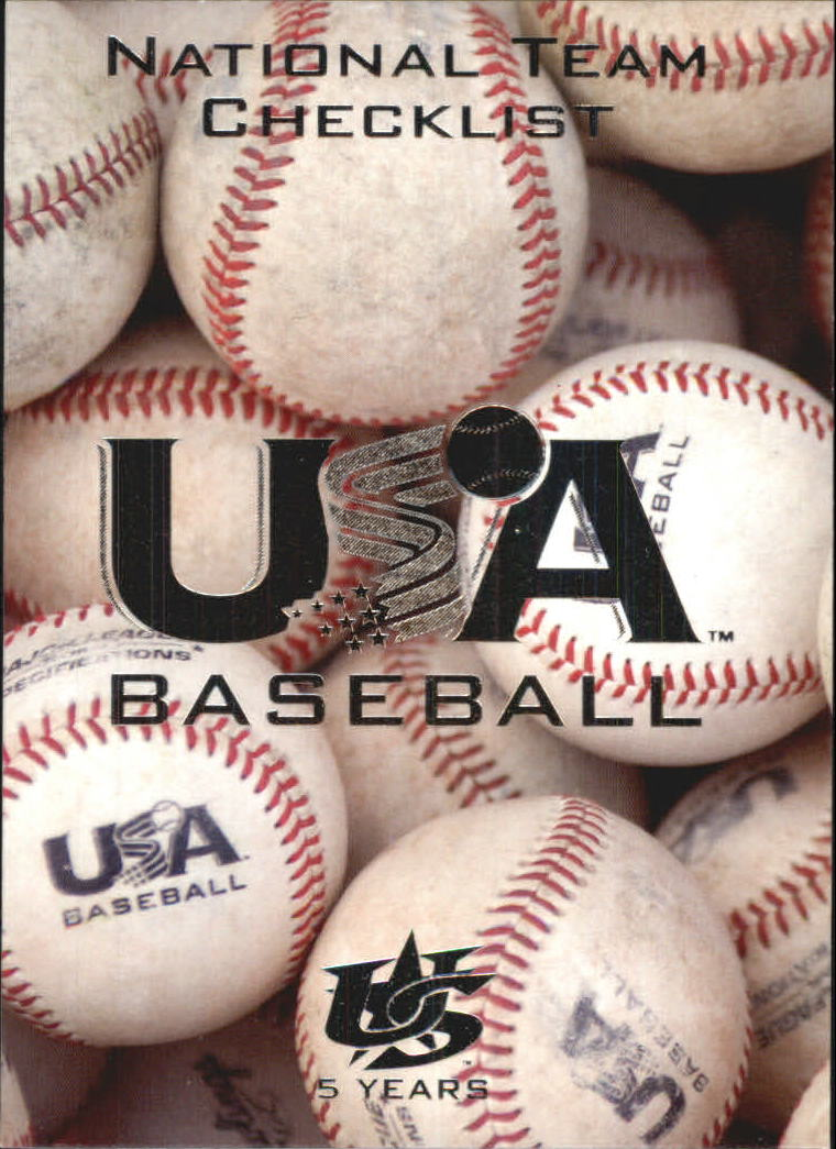 2006-07 USA Baseball #30 National Team CL
