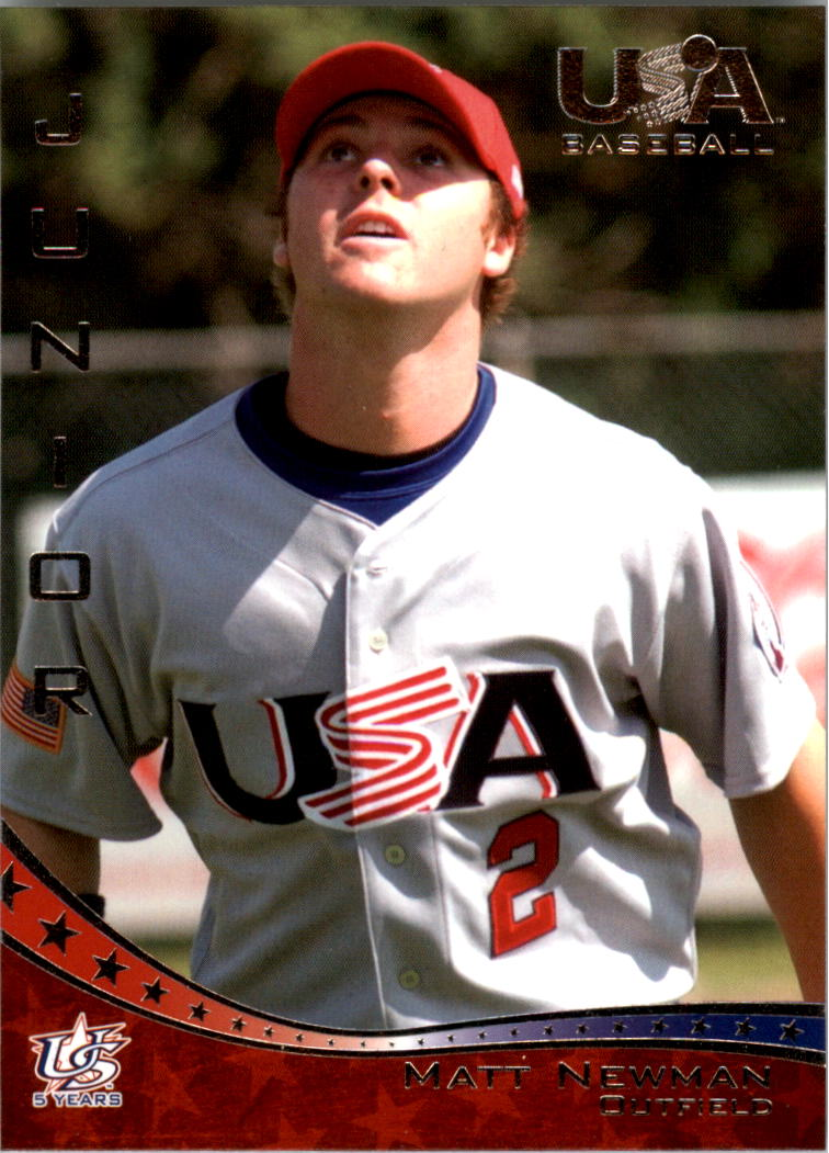 2006-07 USA Baseball #32 Matt Newman