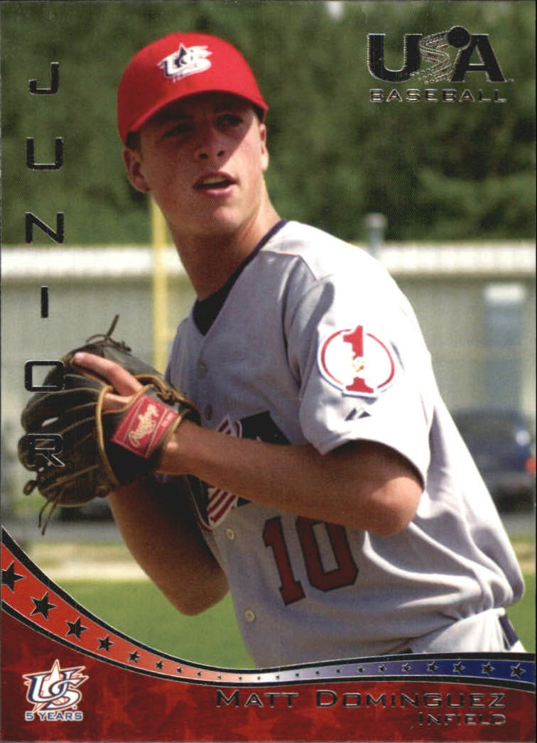 2006-07 USA Baseball #33 Matt Dominguez