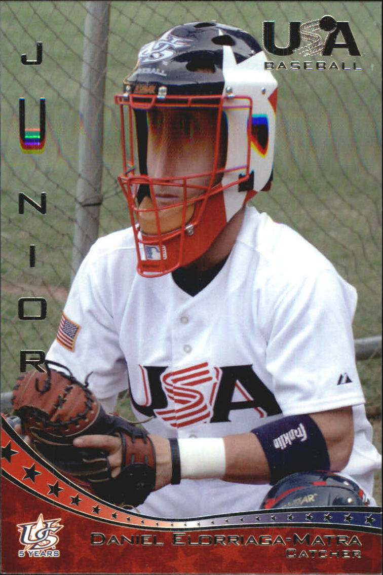 2006-07 USA Baseball #34 Daniel Elorriaga-Matra