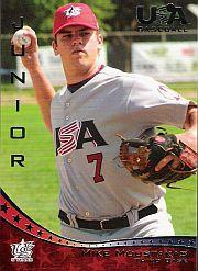 2006-07 USA Baseball #38 Mike Moustakas