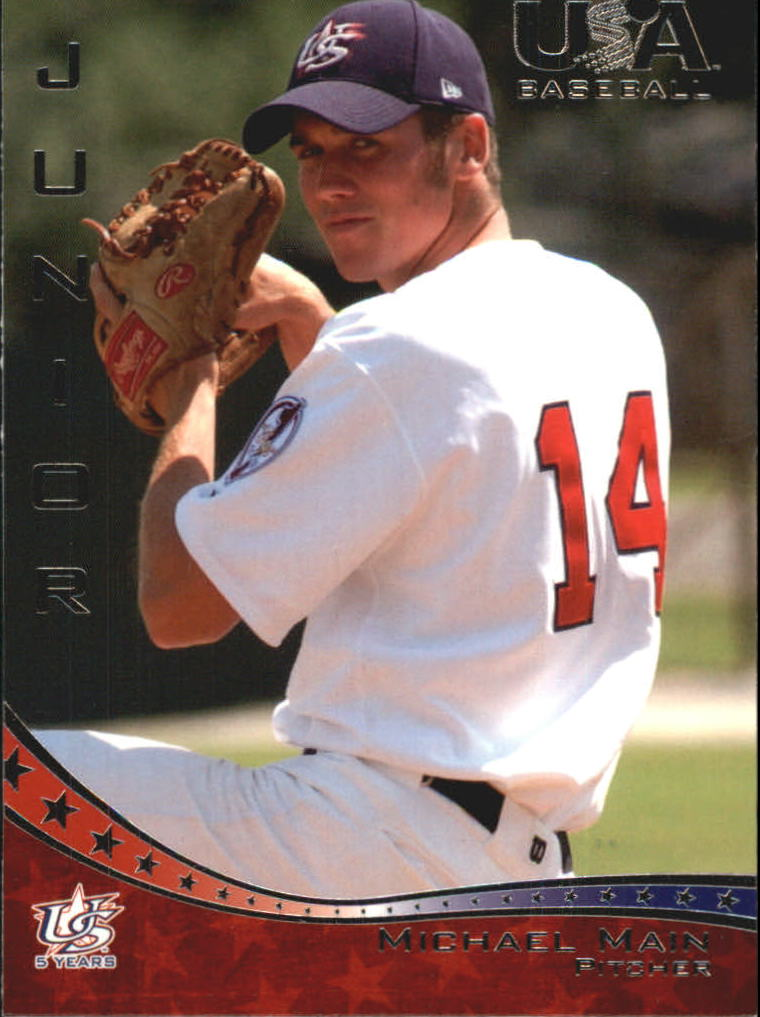2006-07 USA Baseball #41 Michael Main