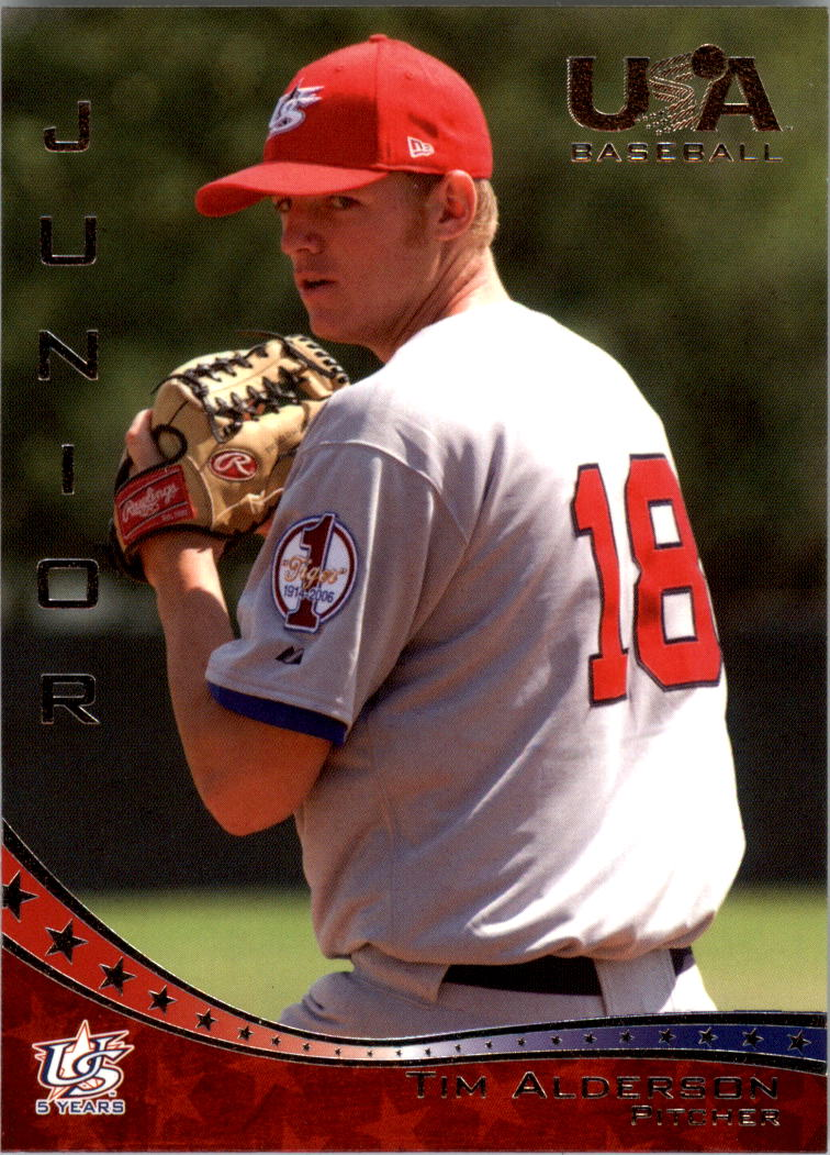 2006-07 USA Baseball #42 Tim Alderson