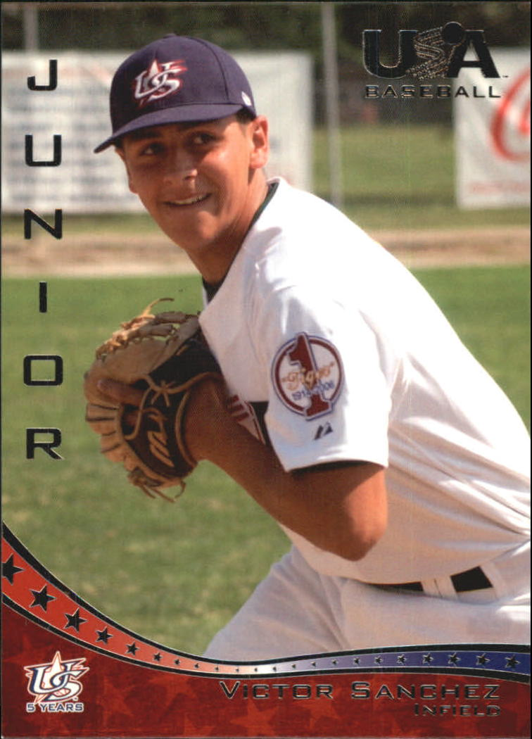 2006-07 USA Baseball #46 Victor Sanchez