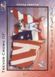 2006-07 USA Baseball Alumni Patriotic Patches #16 Trevor Crowe