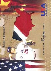 2006-07 USA Baseball Bound for Beijing Patches #2 Nick Adenhart/20
