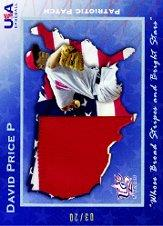 2006-07 USA Baseball Patriotic Patches #7 David Price