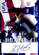 2006-07 USA Baseball Signatures Blue #20 J.P. Arencibia