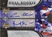 2006 Exquisite Collection #29 Martin (RC)/Ethier (RC)