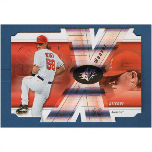2007 SPx #23 Jered Weaver