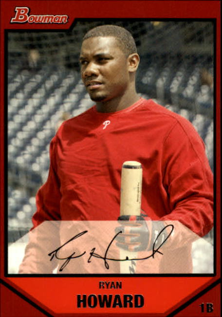 2007 Bowman #50 Ryan Howard