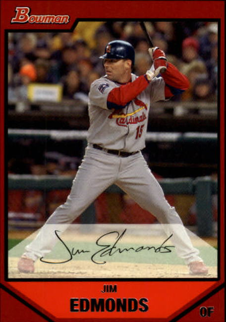 2007 Bowman #59 Jim Edmonds