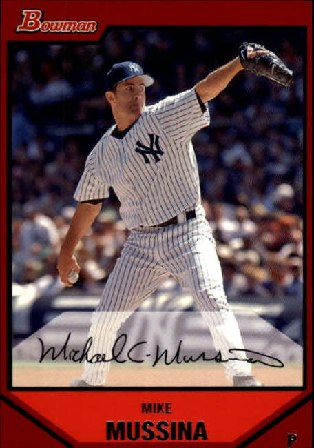 2007 Bowman #109 Mike Mussina