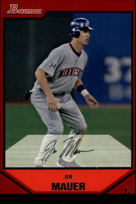 2007 Bowman #150 Joe Mauer