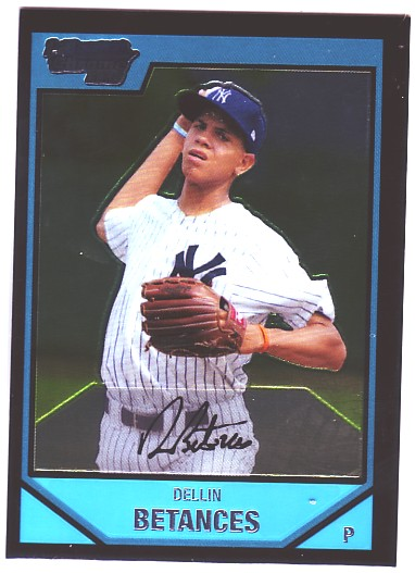 2007 Bowman Chrome Prospects #BC5 Dellin Betances