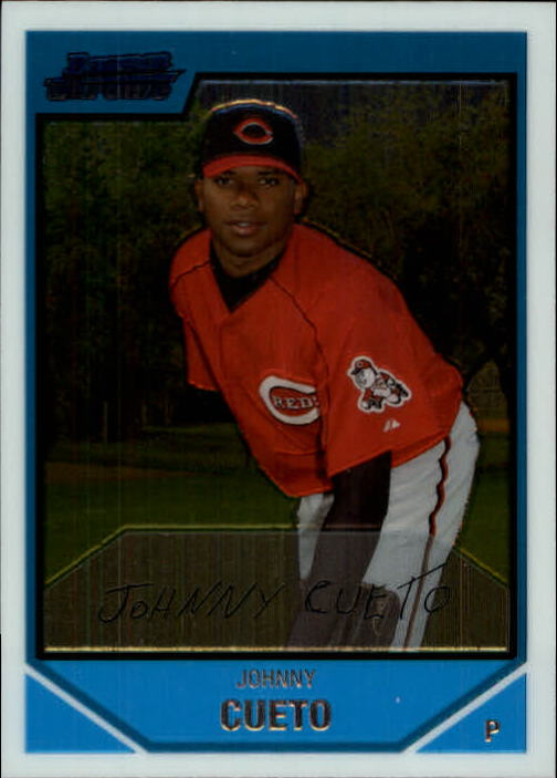 2007 Bowman Chrome Prospects #BC145 Johnny Cueto
