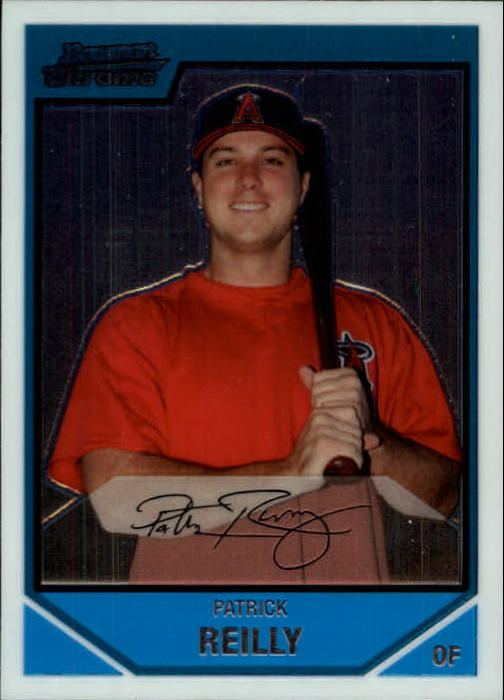 2007 Bowman Chrome Prospects #BC199 Patrick Reilly