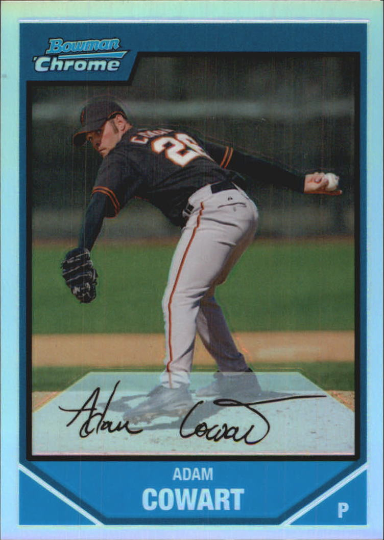 2007 Bowman Chrome Prospects Refractors #BC188 Adam Cowart