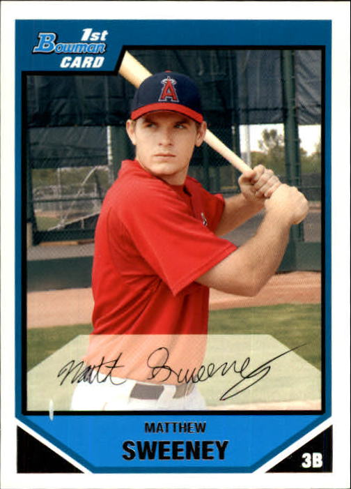 2007 Bowman Prospects #BP11 Matthew Sweeney