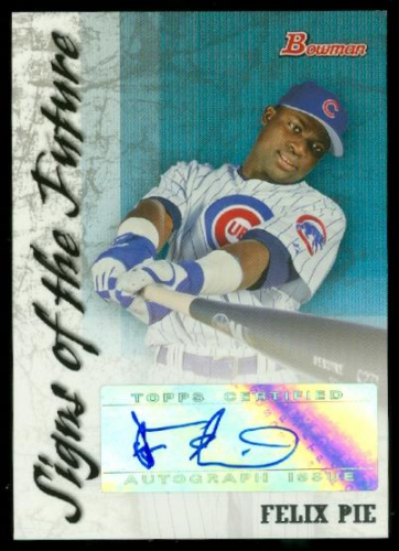 2007 Bowman Signs of the Future #FP Felix Pie