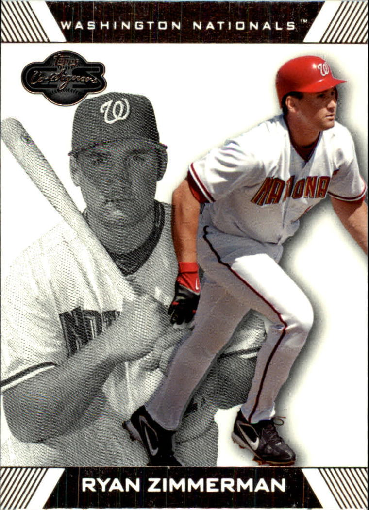 2007 Topps Co-Signers #16 Ryan Zimmerman