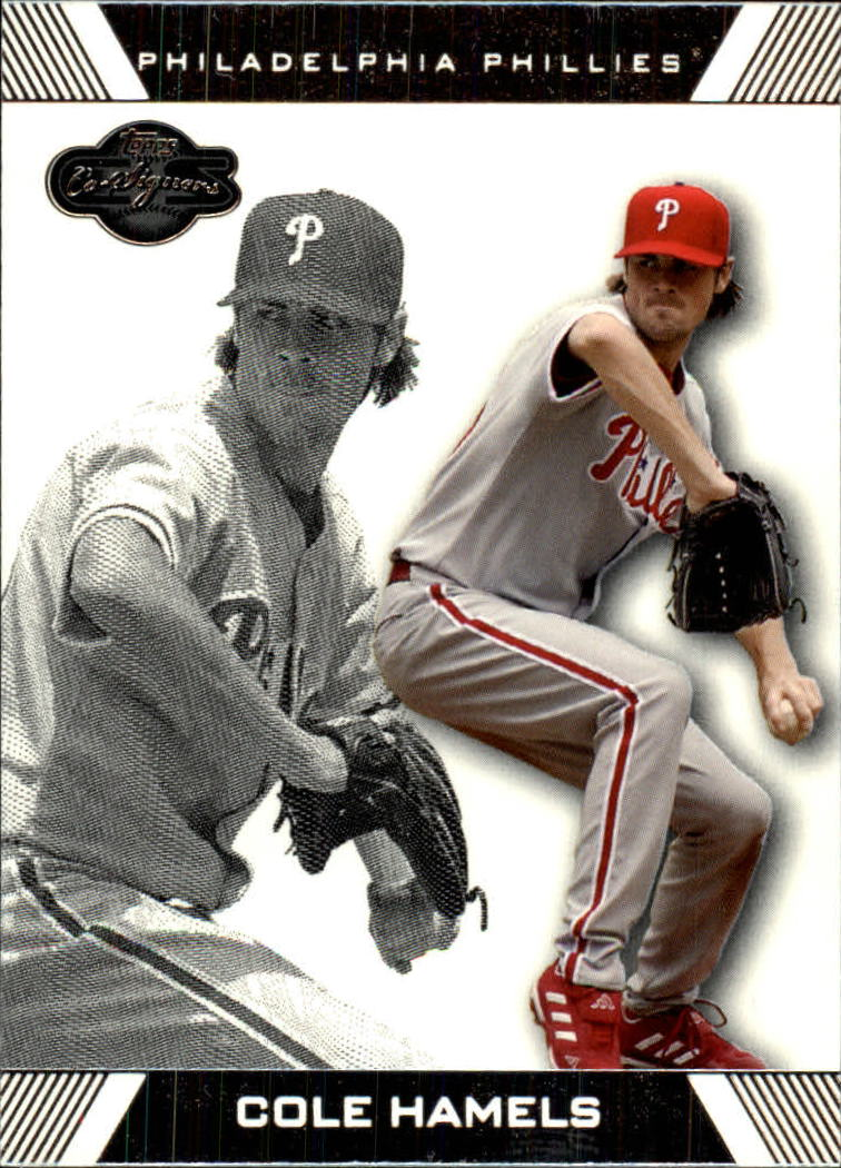 2007 Topps Co-Signers #62 Cole Hamels