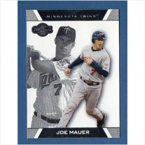 2007 Topps Co-Signers #72 Joe Mauer