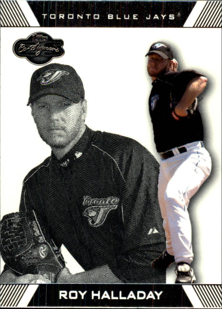 2007 Topps Co-Signers #90 Roy Halladay