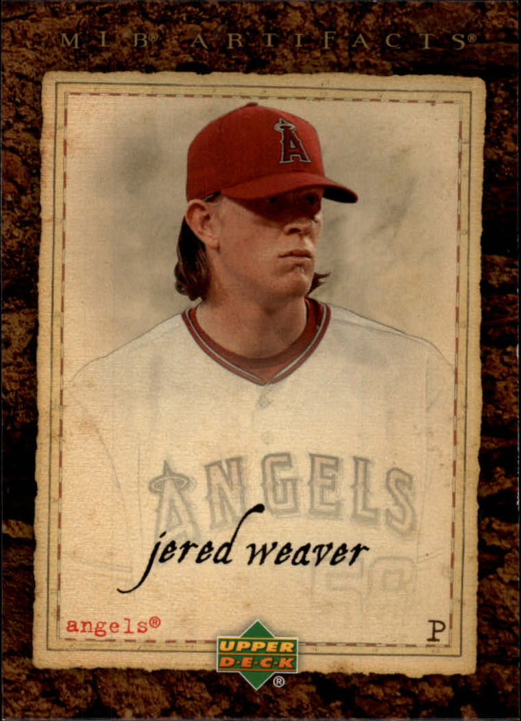2007 Artifacts #16 Jered Weaver