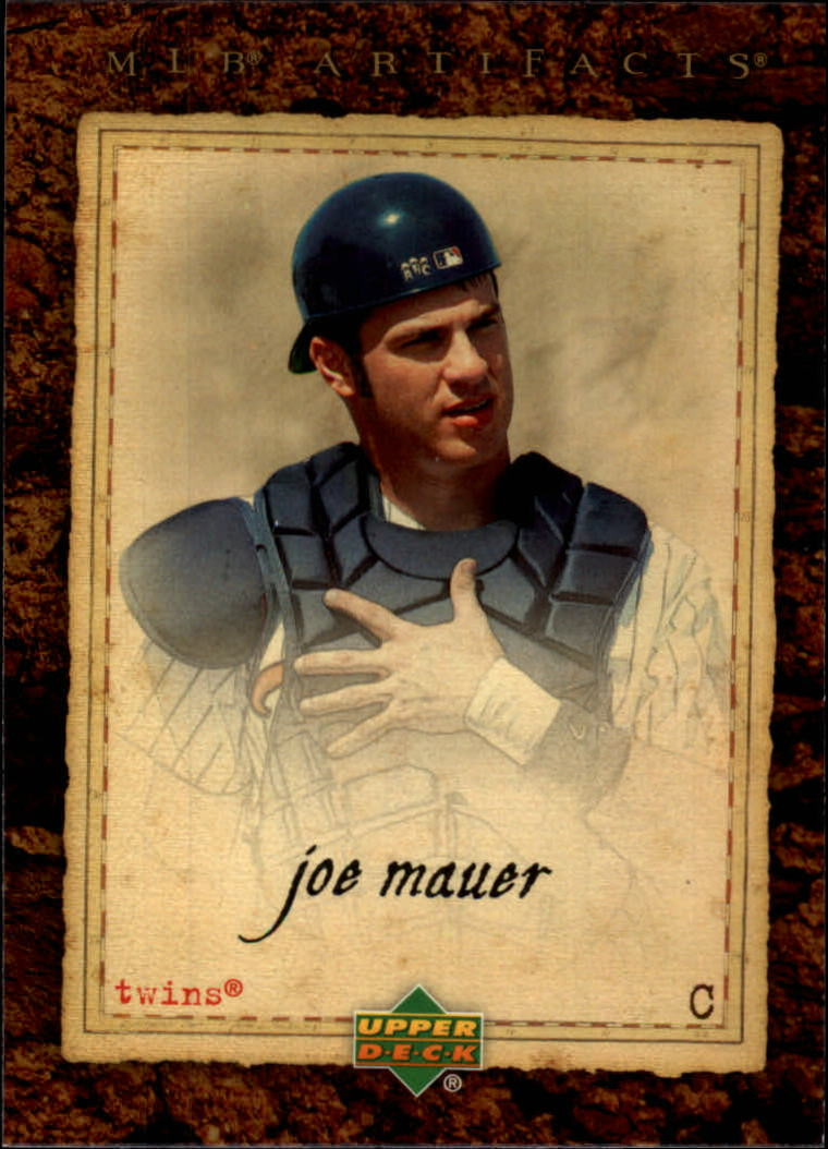 2007 Artifacts #18 Joe Mauer