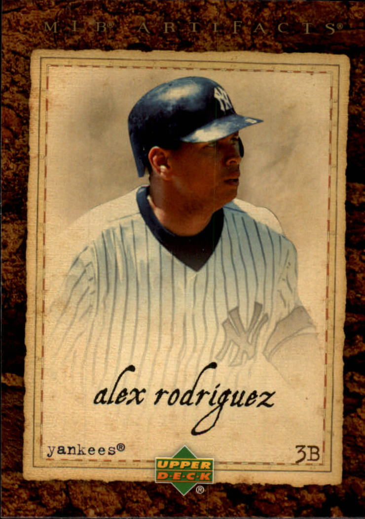 2007 Artifacts #22 Alex Rodriguez