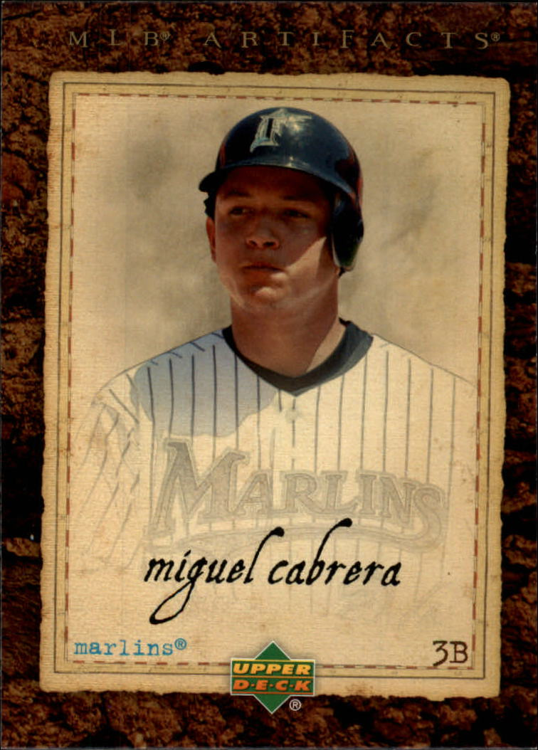 2007 Artifacts #44 Miguel Cabrera
