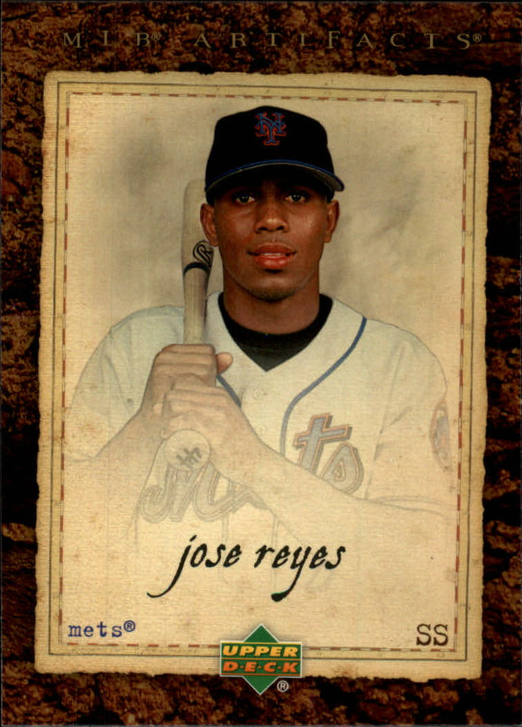 2007 Artifacts #54 Jose Reyes