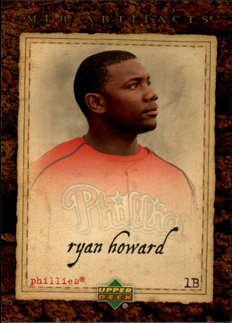 2007 Artifacts #57 Ryan Howard